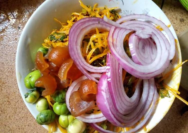 African Cuisine Abacha(African salad)