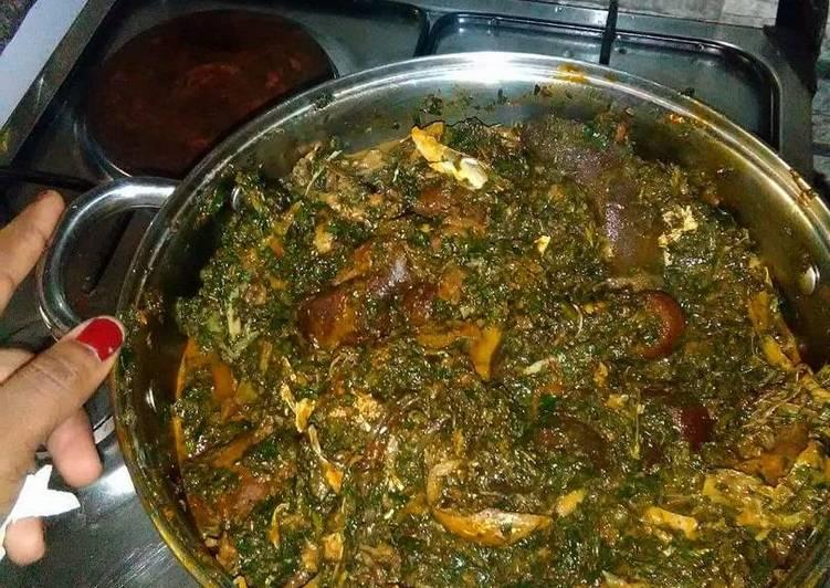 afang soup recipe main photo 5