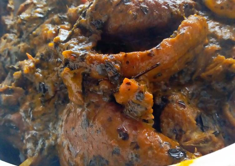afang soup with a fresh taste recipe main photo