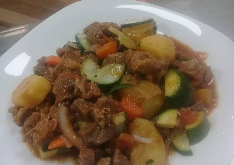 West African Foods African beef stew
