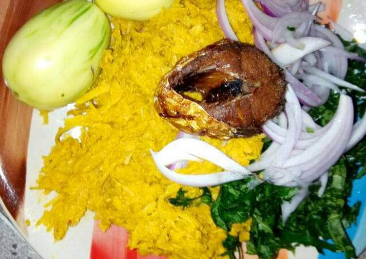 Traditional African Foods African Salad(Abacha)