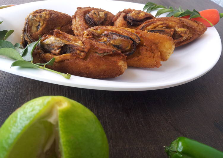 arikadukka stuffed mussels a malabar special snack recipe main photo 1