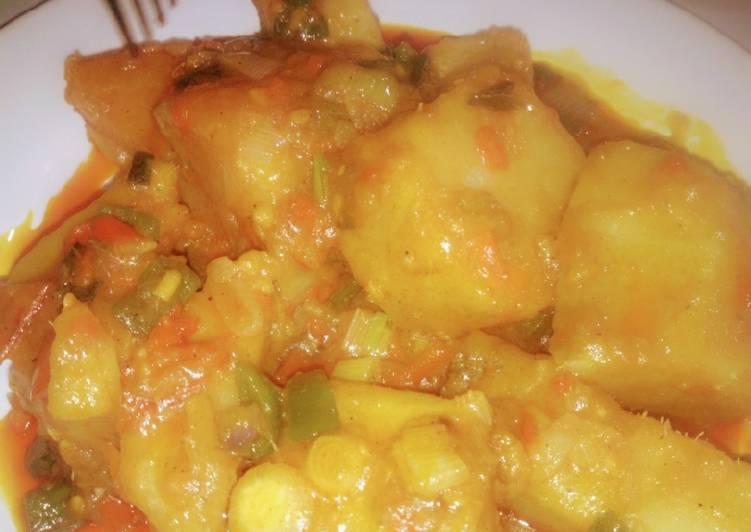 banga porridge yam recipe main photo