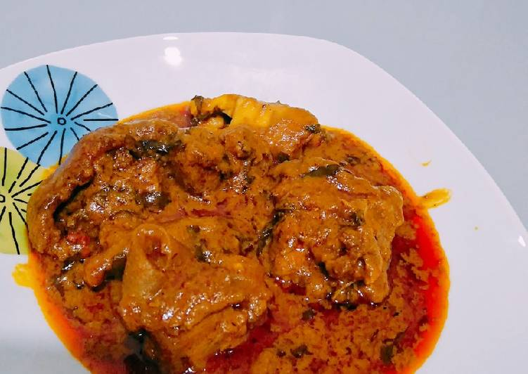 African Food Banga soup