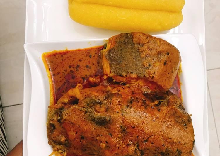 African Cuisine Banga soup