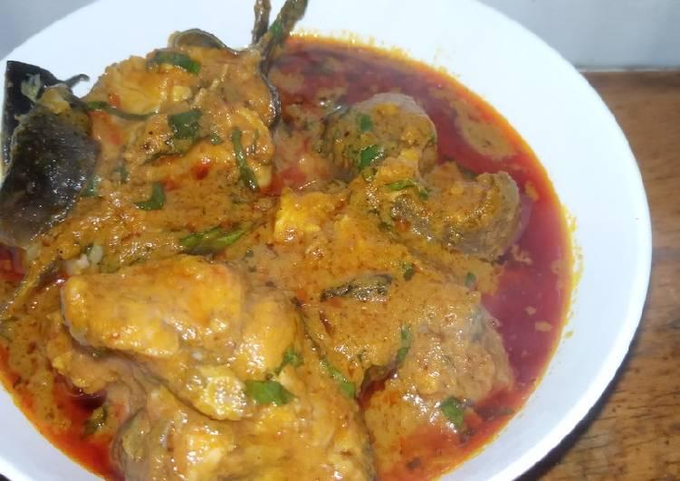 African Dish Banga soup