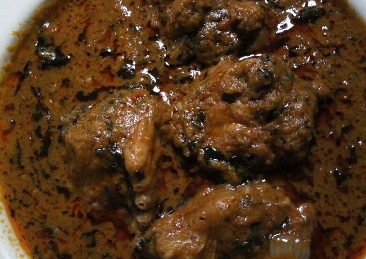 banga soup with turkey meat recipe main photo