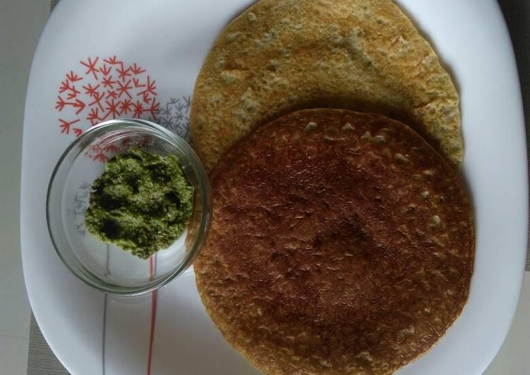 bhadku chillamoongbajrarice pancake recipe main photo