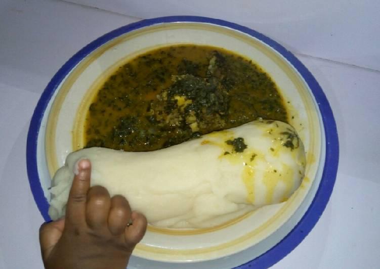 bitterleaf ogbono soup recipe main photo