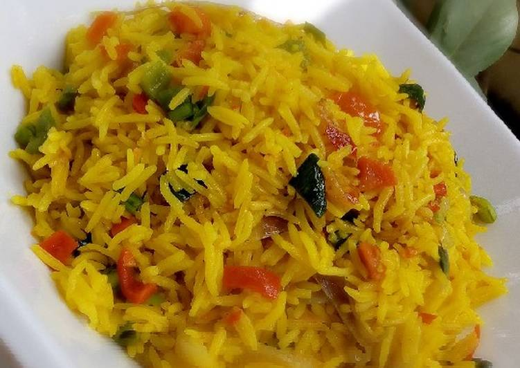 buttered fried rice recipe main photo
