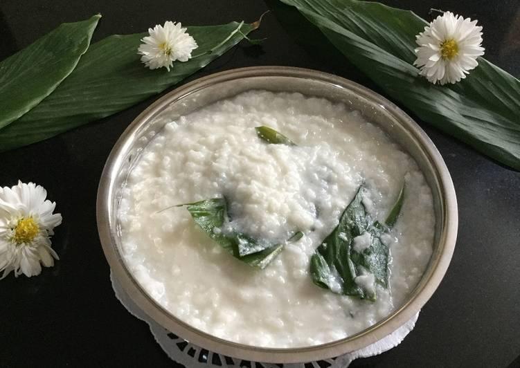 cheppi kheeri konkani style coconut rice pudding recipe main photo