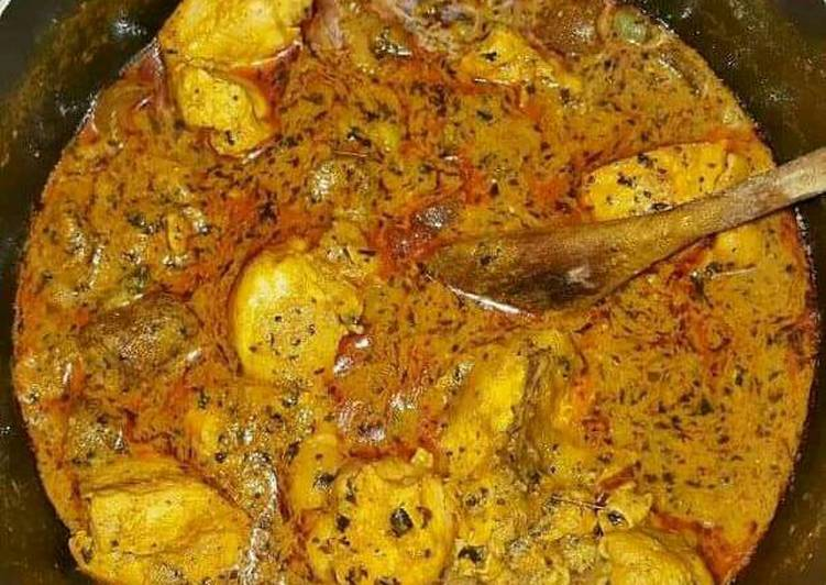 West African Foods Chicken Banga Soup