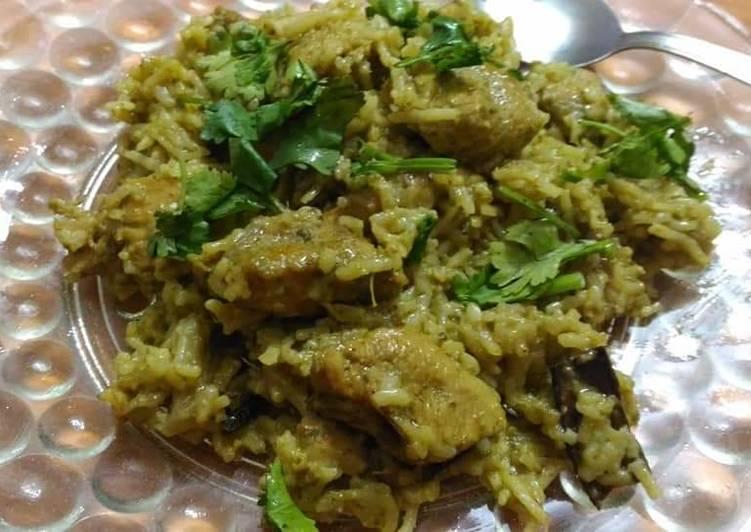 chicken coriander coconut rice recipe main photo 1