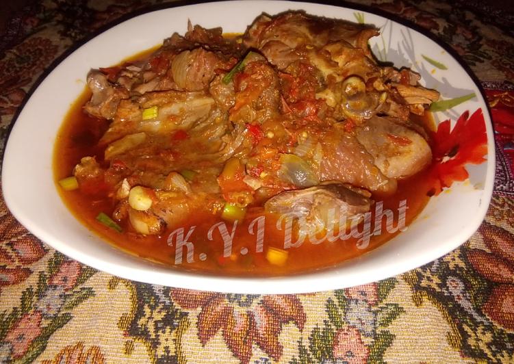 chicken pepper soup recipe main photo