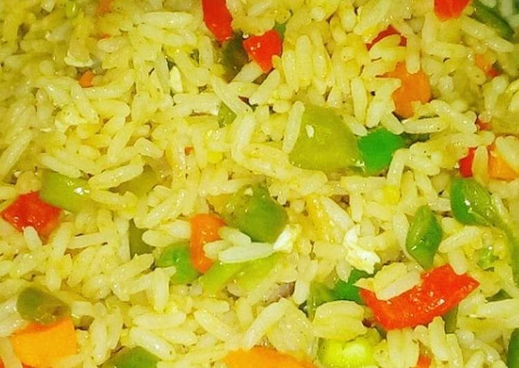 West African Foods Coconut Frid rice