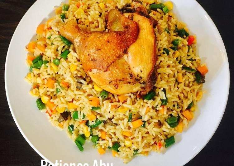 coconut fried rice recipe main photo 1