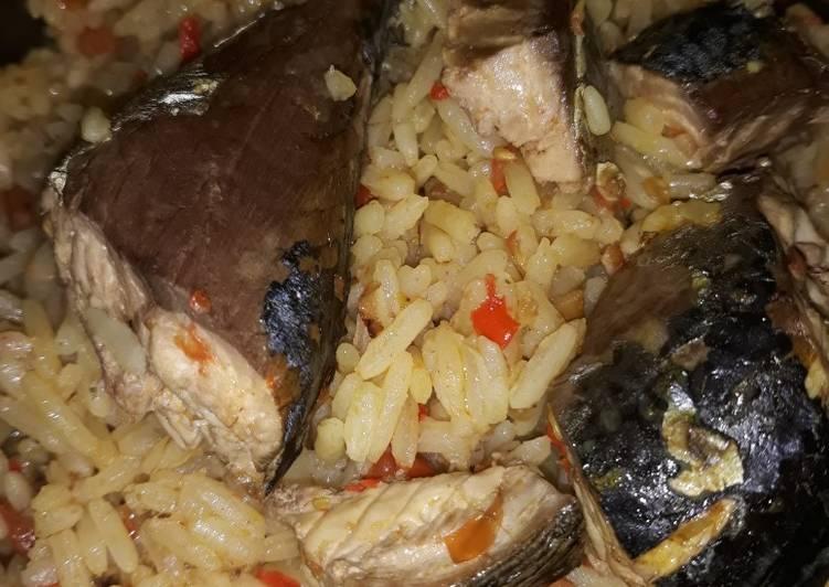 African Cuisine Coconut jollof rice