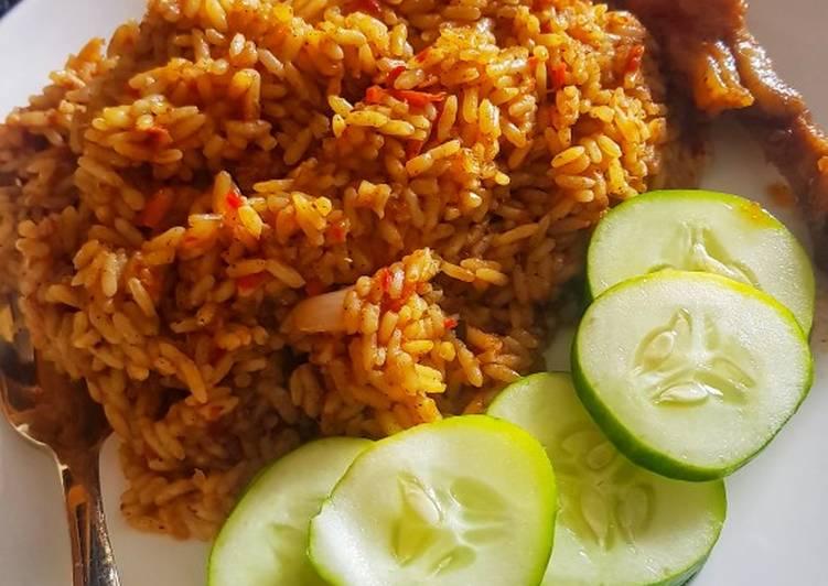 coconut jollof rice recipe main photo