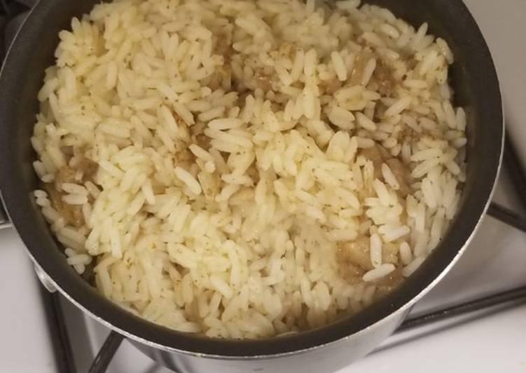 coconut milk rice recipe main photo