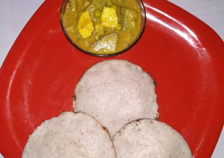 coconut rice pancake recipe main photo