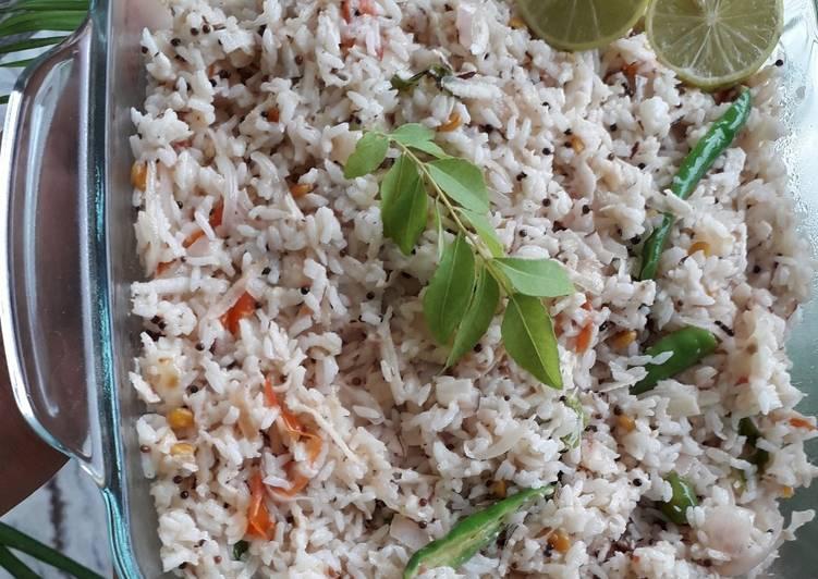 coconut rice recipe main photo 12