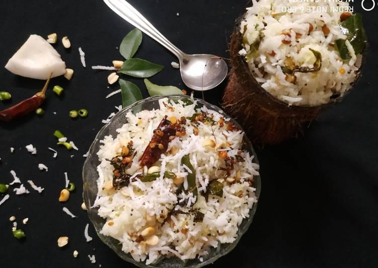 coconut rice recipe main photo 13