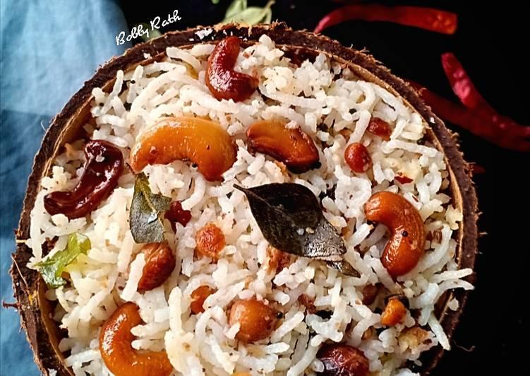 coconut rice recipe main photo 14