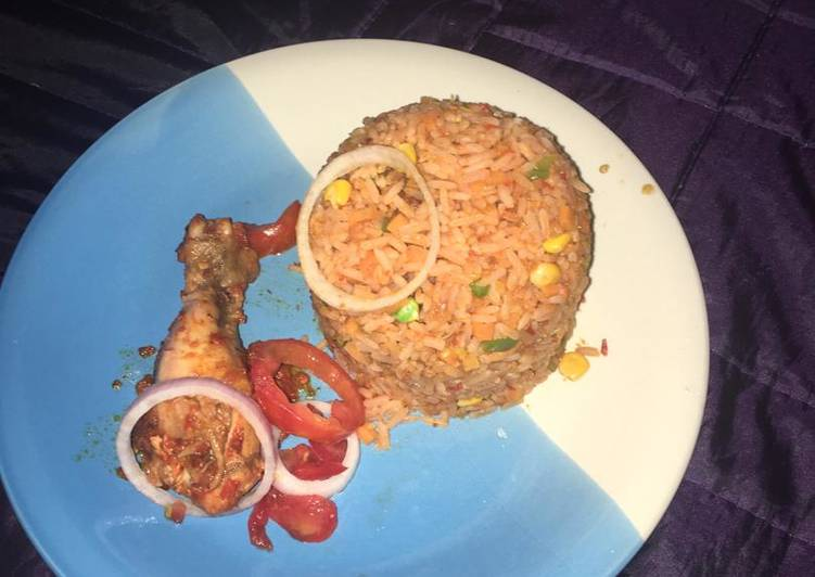 Traditional African Foods Coconut Rice