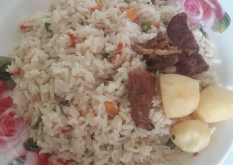 coconut rice with irish recipe main photo