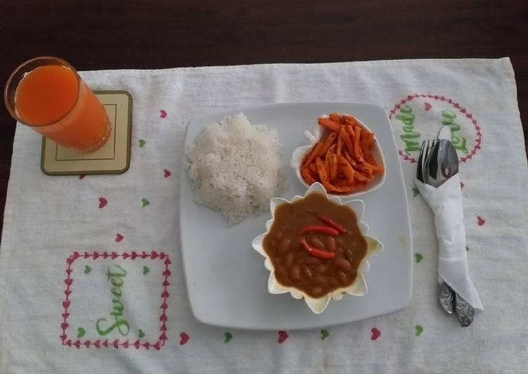 African Cuisine Coconut Rice#4 week contest