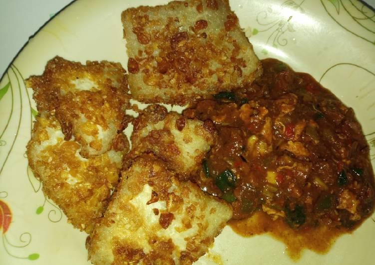 African Food Crunchy yam