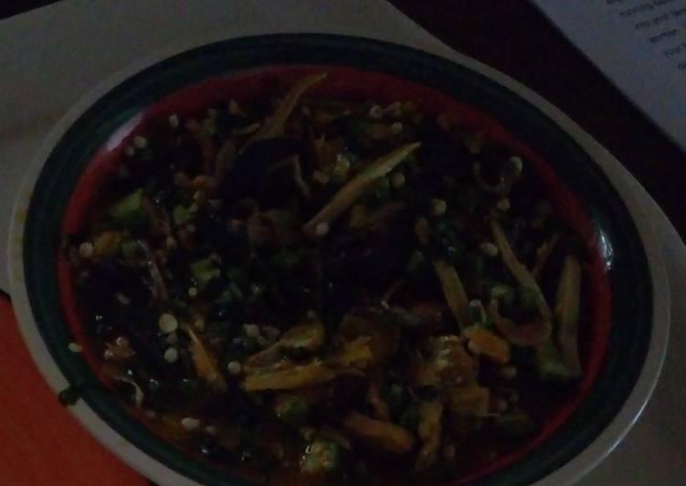 delicious fresh okro soup recipe main photo