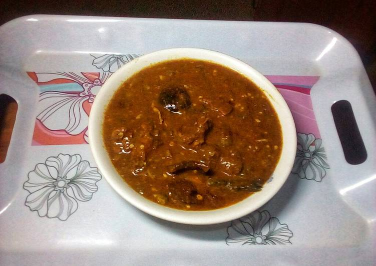 designer ogbono and okro soup recipe main photo 1