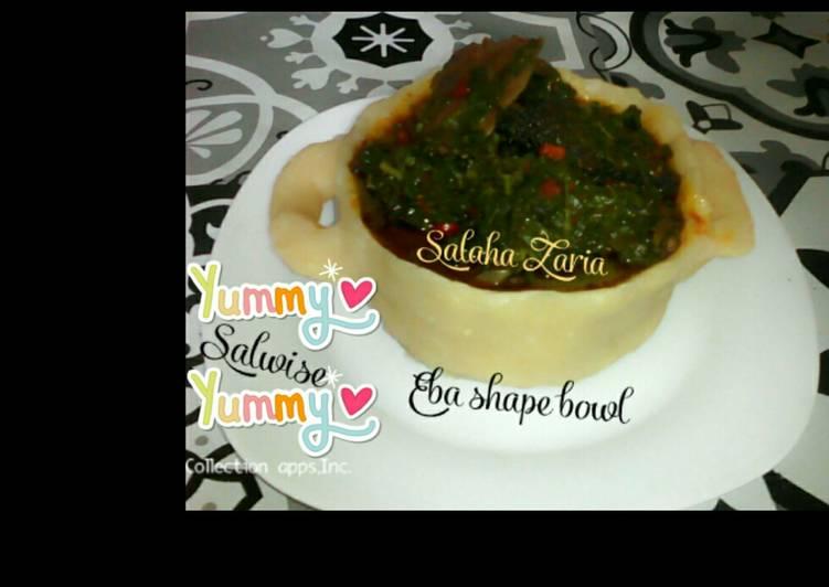 eba shape bowl eforiro recipe main photo