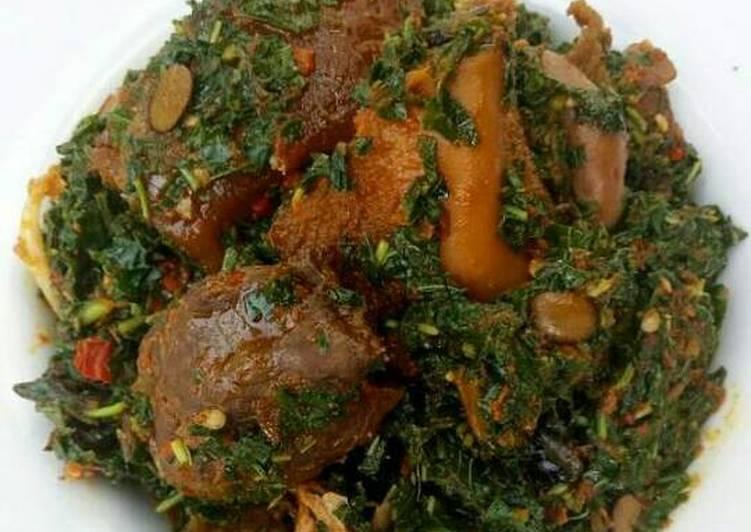 African Dish Efo Riro