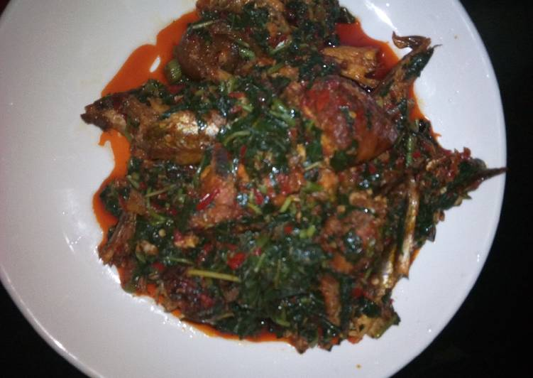 Traditional African Foods Efo Riro