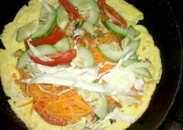 egg shawama recipe main photo