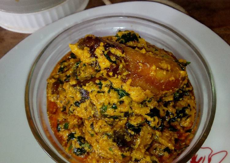 egusi and groundnut soup recipe main photo