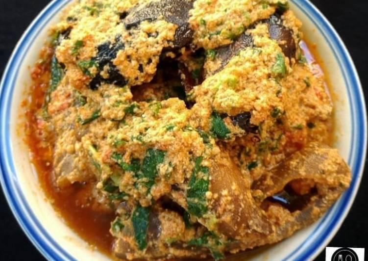 egusi soup fried method recipe main photo 1