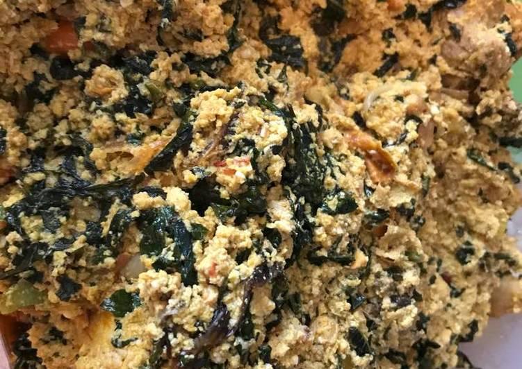African Cuisine Egusi Soup