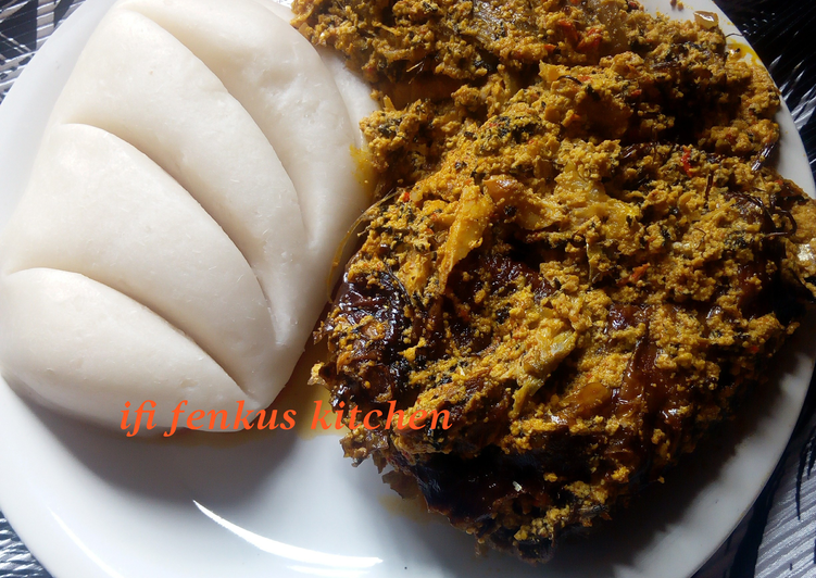 egusi soup the igarra way recipe main photo 1