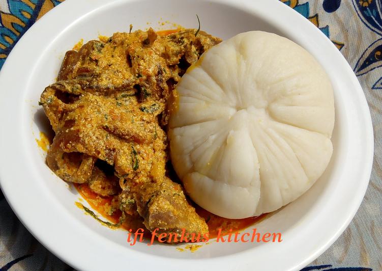 egusi soup with infused uziza leaves and ehu seed recipe main photo