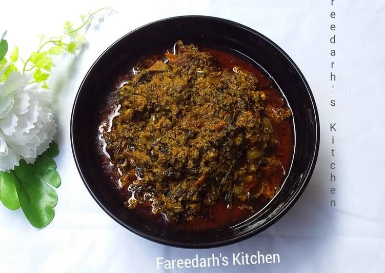 egusi soup with ugu recipe main photo 1