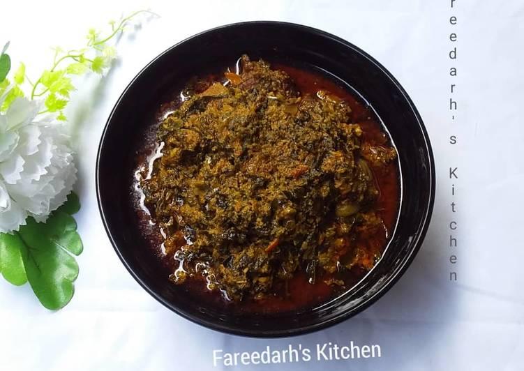 egusi soup with ugu recipe main photo