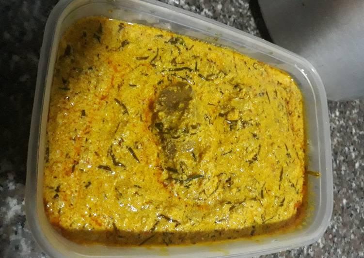 egusi soup with uziza recipe main photo