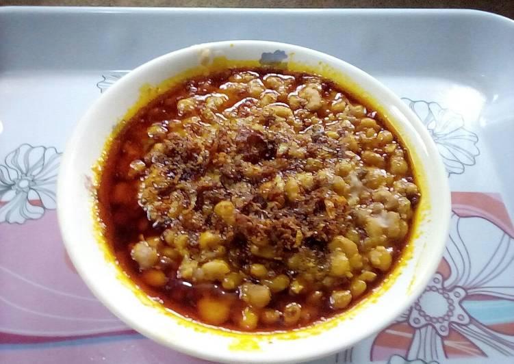 African Dish Ewa Agoyin ll