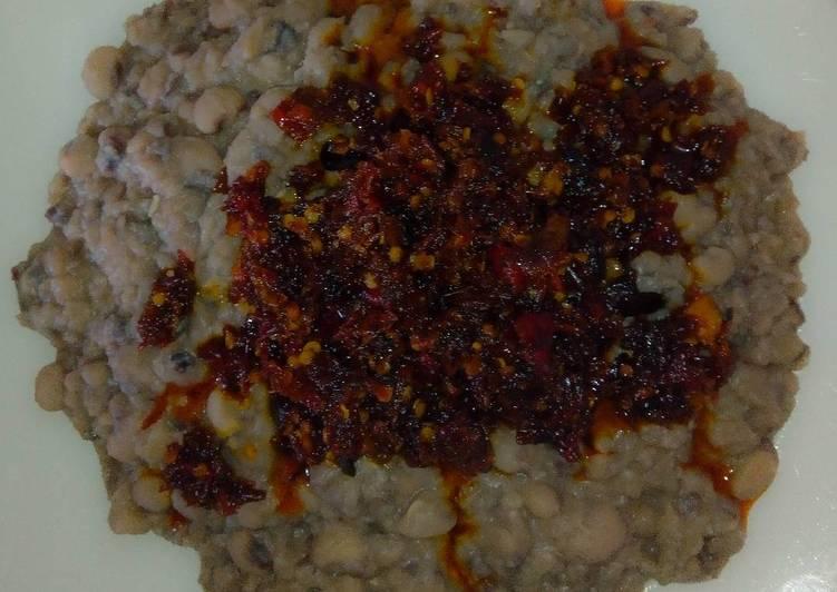 Traditional African Foods Ewa agoyin