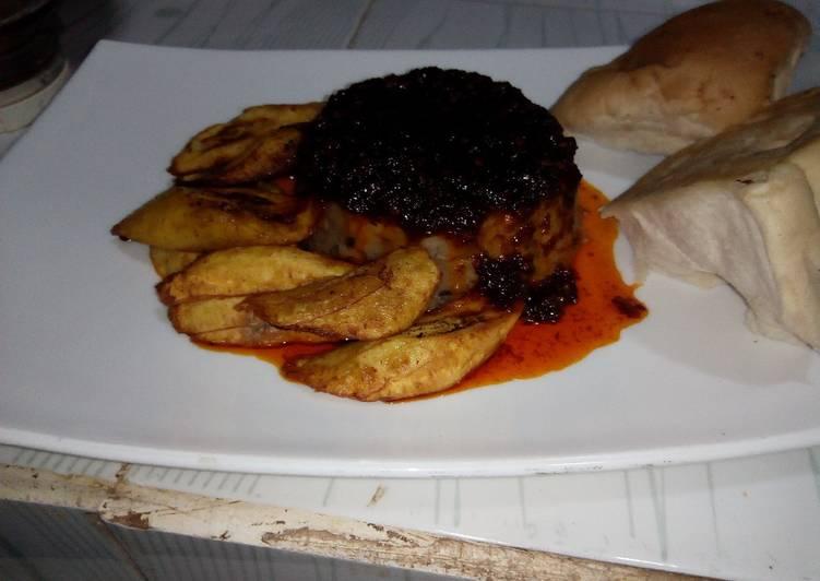 African Cuisine Ewa agoyin