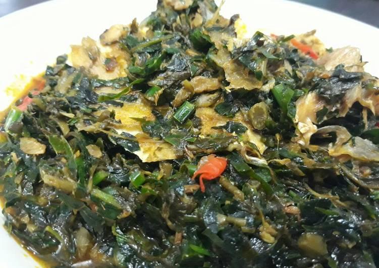 African Food Fresh Vegetable soup