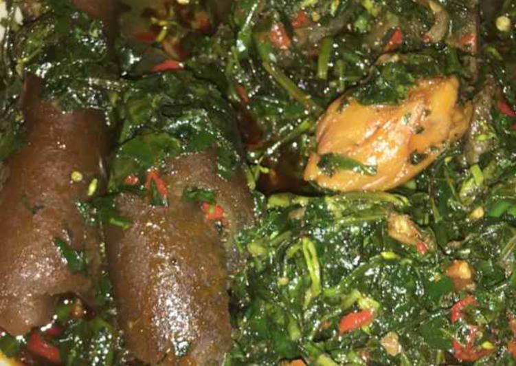 fresh vegetable soup recipe main photo